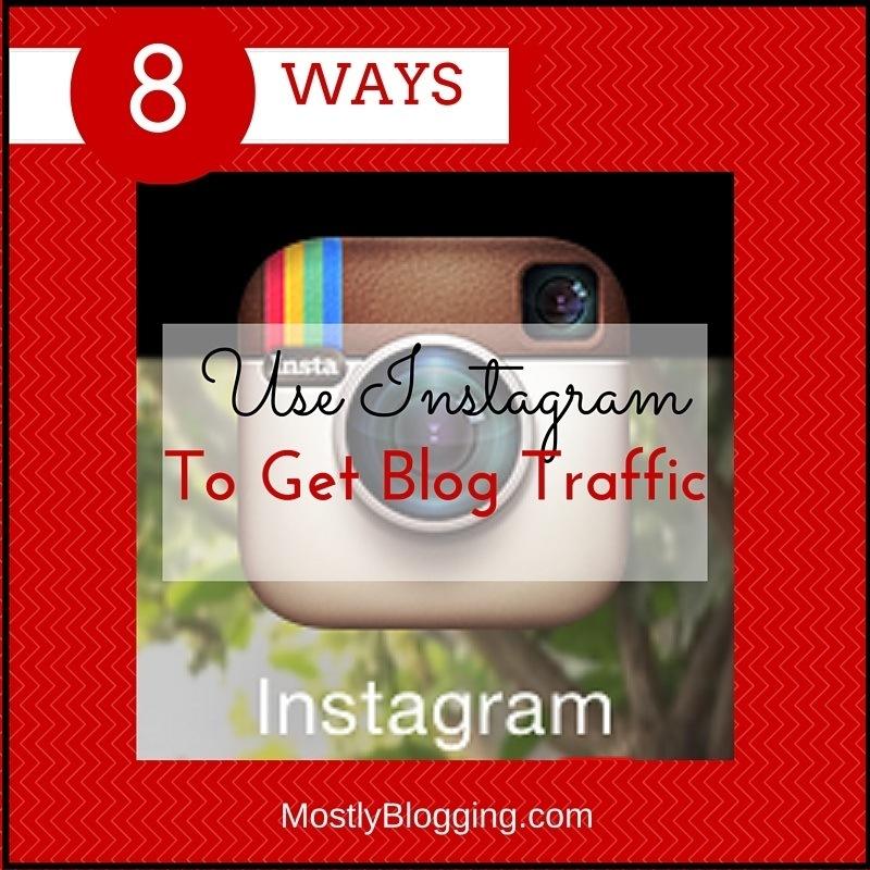 Instagram helps bloggers get traffic