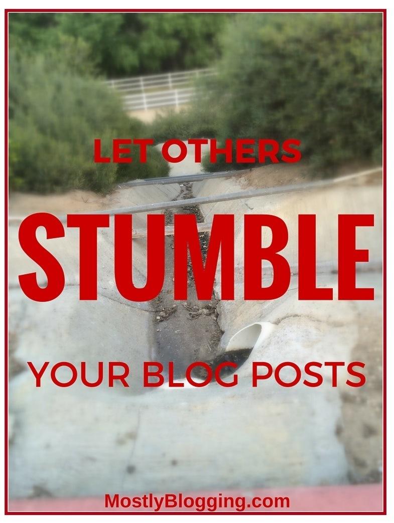 StumbleUpon brings massive #blog traffic.