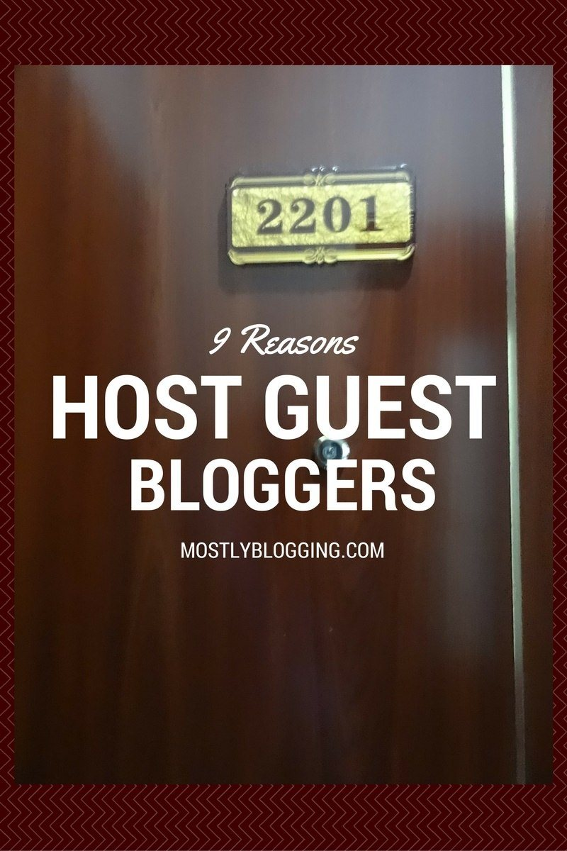 Offering guest blogging opportunities are needed for 9 reasons