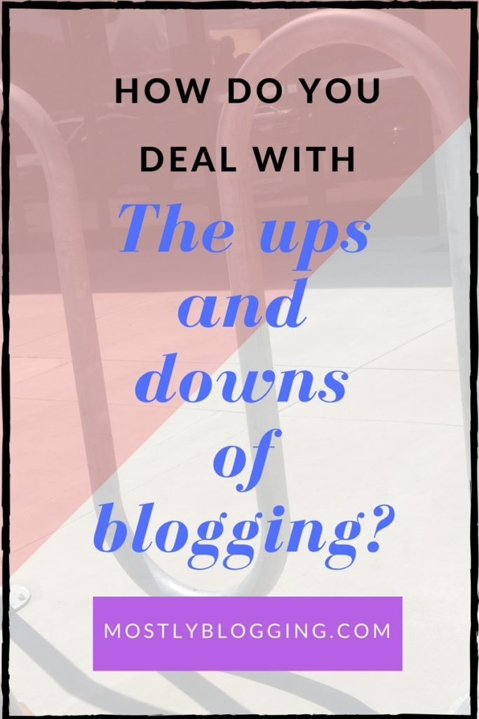 Blogging can offer joy and disappointment