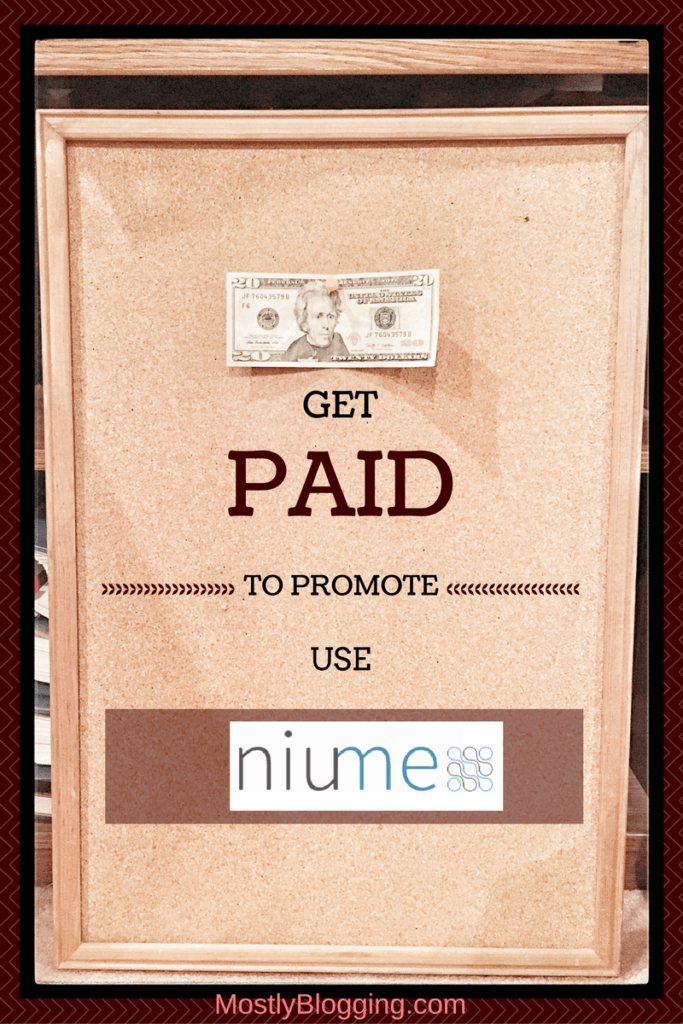 #Bloggers can get paid to promote their #blog posts at Niume