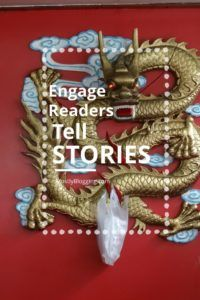 #Bloggers and #writers can engage readers with stories