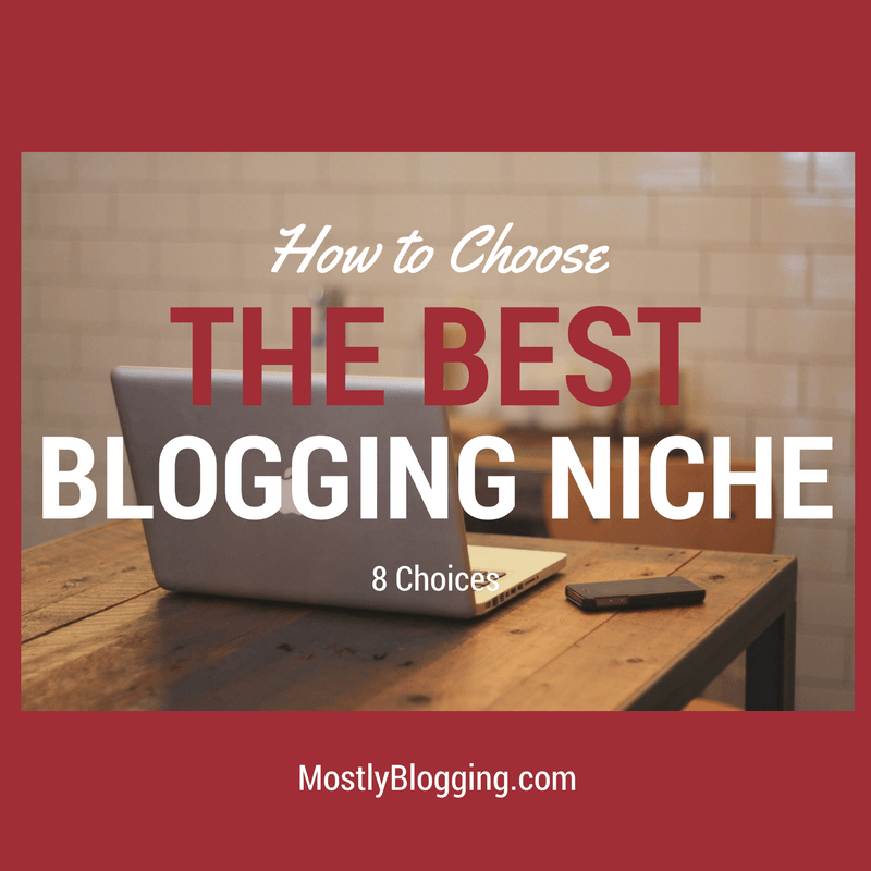 Do you want to be a successful blogger? Pick one of these 8 #blogging topics
