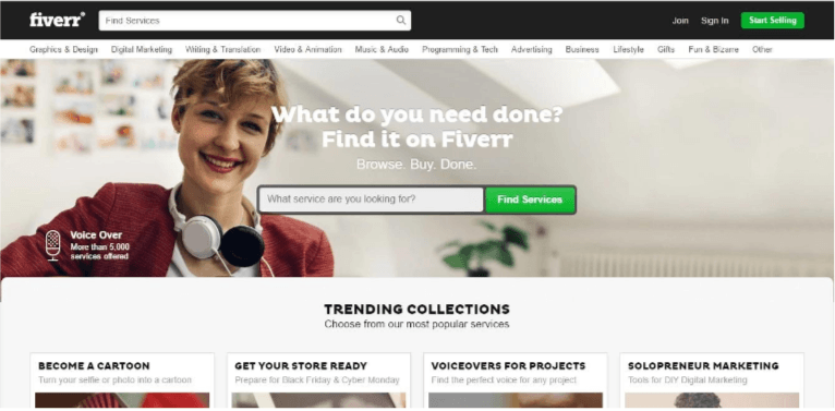 Fiverr helps #bloggers