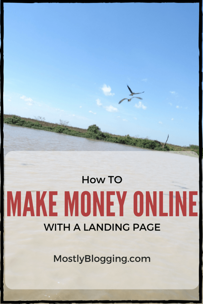 #Bloggers and #Marketers can make money online with a perfect landing page