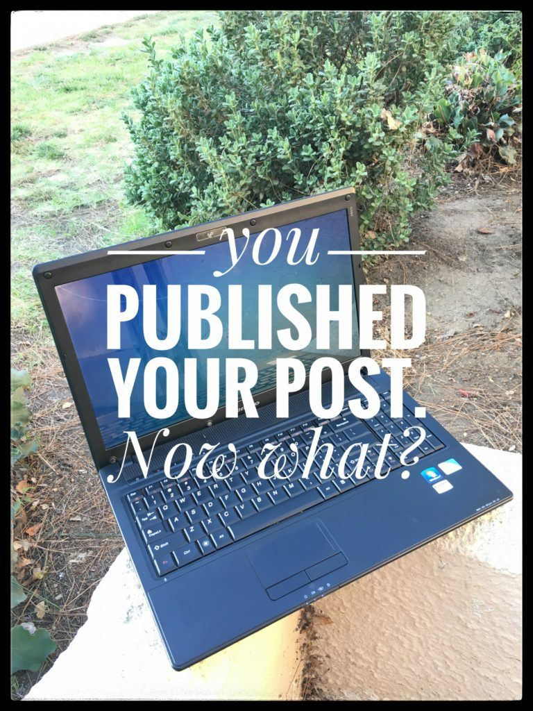 This Is What You Should Do After Publishing Your Blog Post