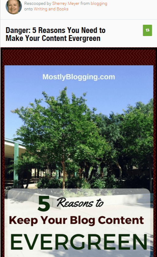 Scoop.It increases #bloggers visibility which can lead to #Blog #TrafficGeneration