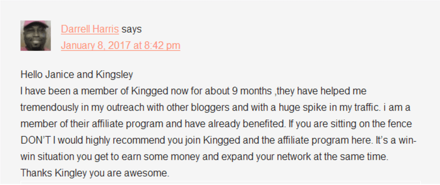 Bloggers are getting paid Kingged makes affiliate marketing easier for #marketers who get paid to write reviews