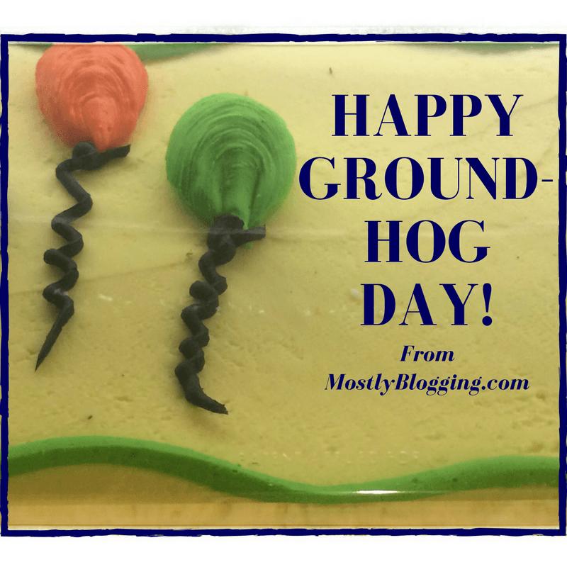 Groundhog Day Cake