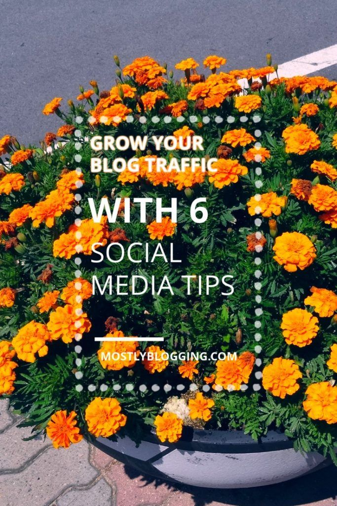 #Bloggers can get more #Blog Traffic with 6 Social Media Tactics