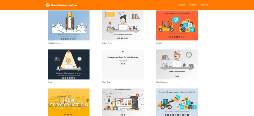 The Under Construction Plugin helps bloggers while building their sites #bloggers #Blogging