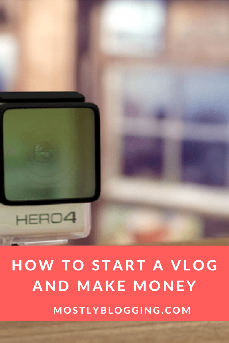 #Bloggers can #MakeMoneyOnline with a video blog