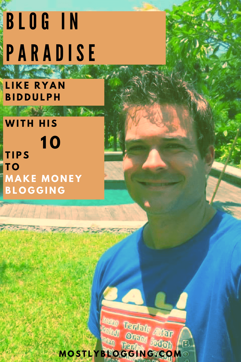 Bloggers can make money blogging with Ryan Biddulph's Blog Monetization tips #MakeMoneyBlogging #BlogMonetization