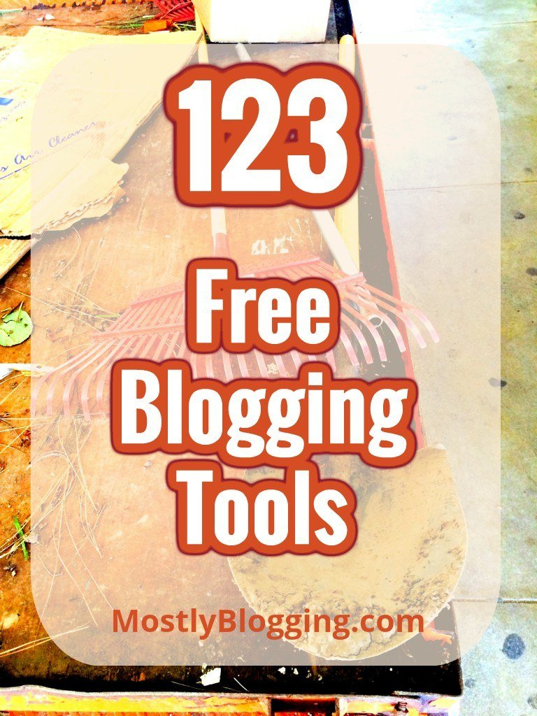 Blogging Tools - cover