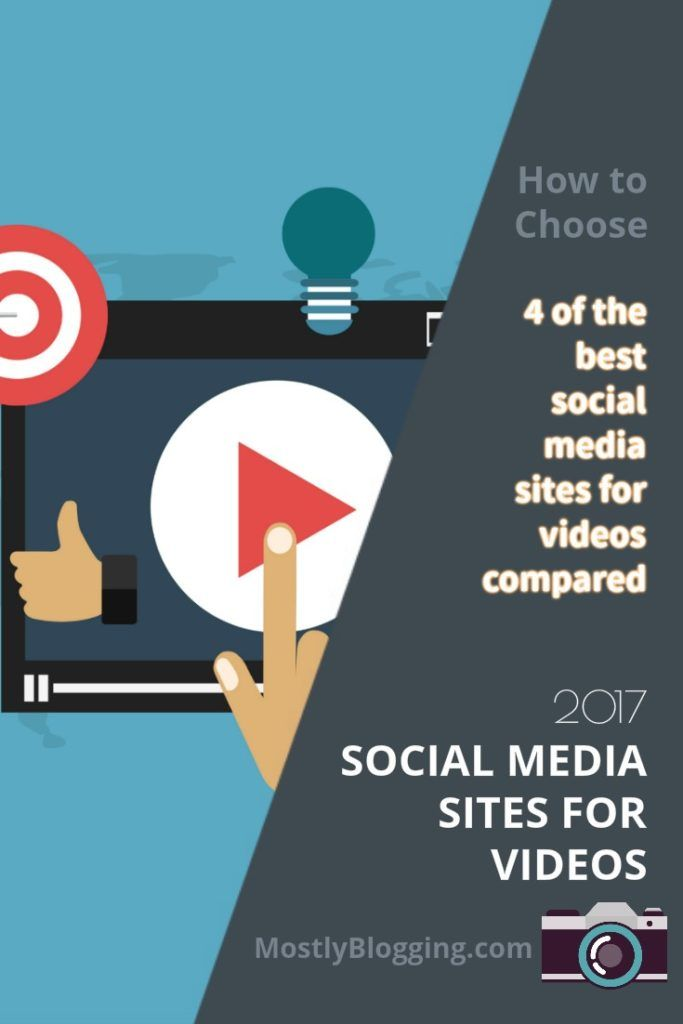 4 of the best social media platforms for videos compared #VideoMarketing