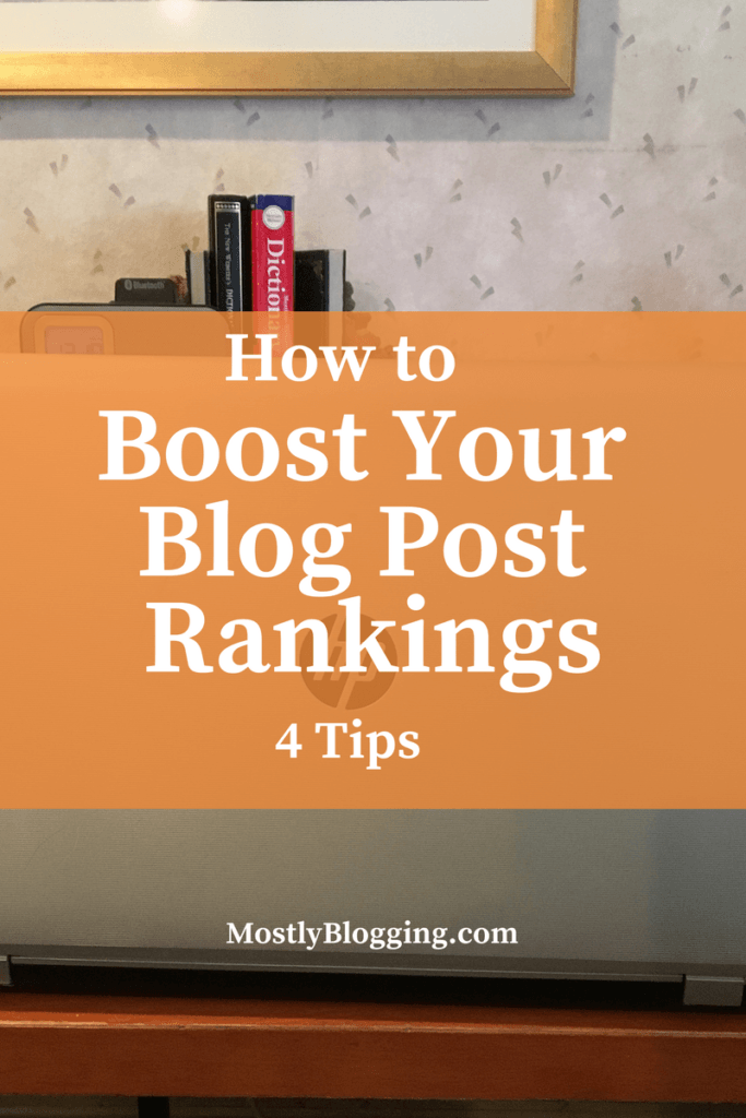 Bloggers and Marketers: Boost your #OrganicTraffic boost your blog post rankings