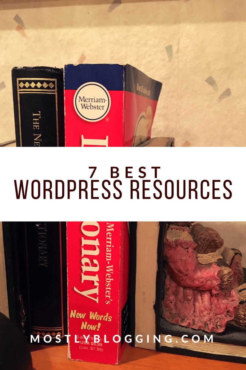 7 of the best WordPress resources #WordPress