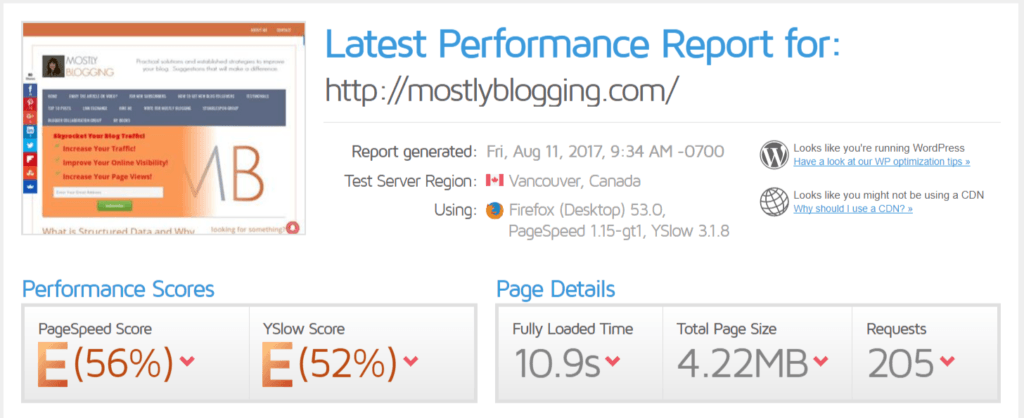 How to get more organic traffic speed up WordPress