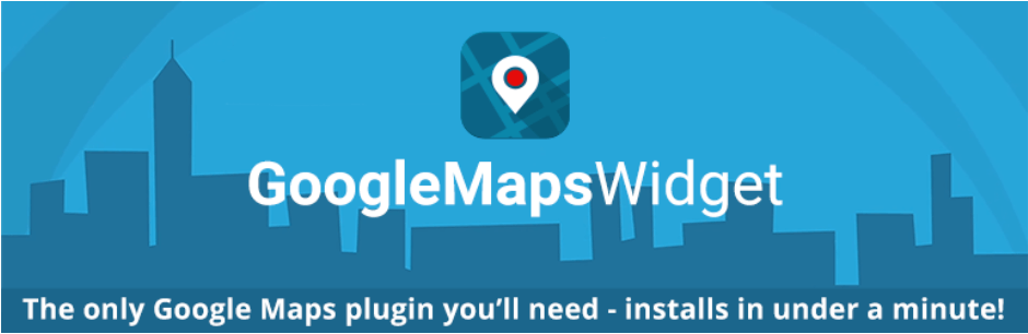 Google Maps Widget is the fastest loading plugin of its kind.