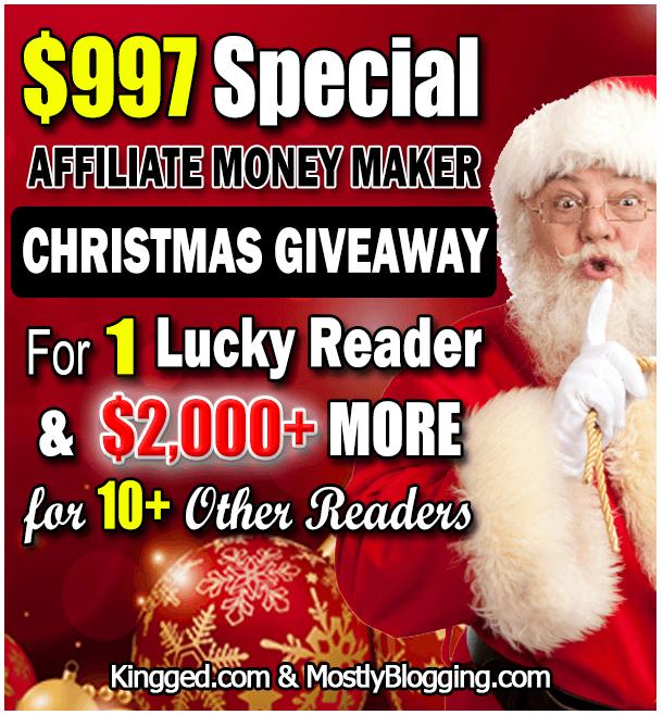 Christmas money giveaway