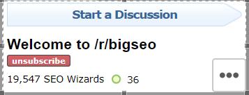 Reddit Forums