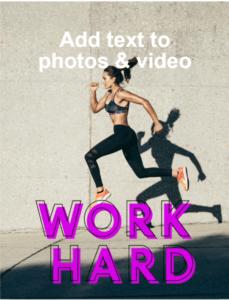 InstaSize editing app