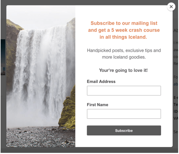 Email form best practices: What to put on your opt in form