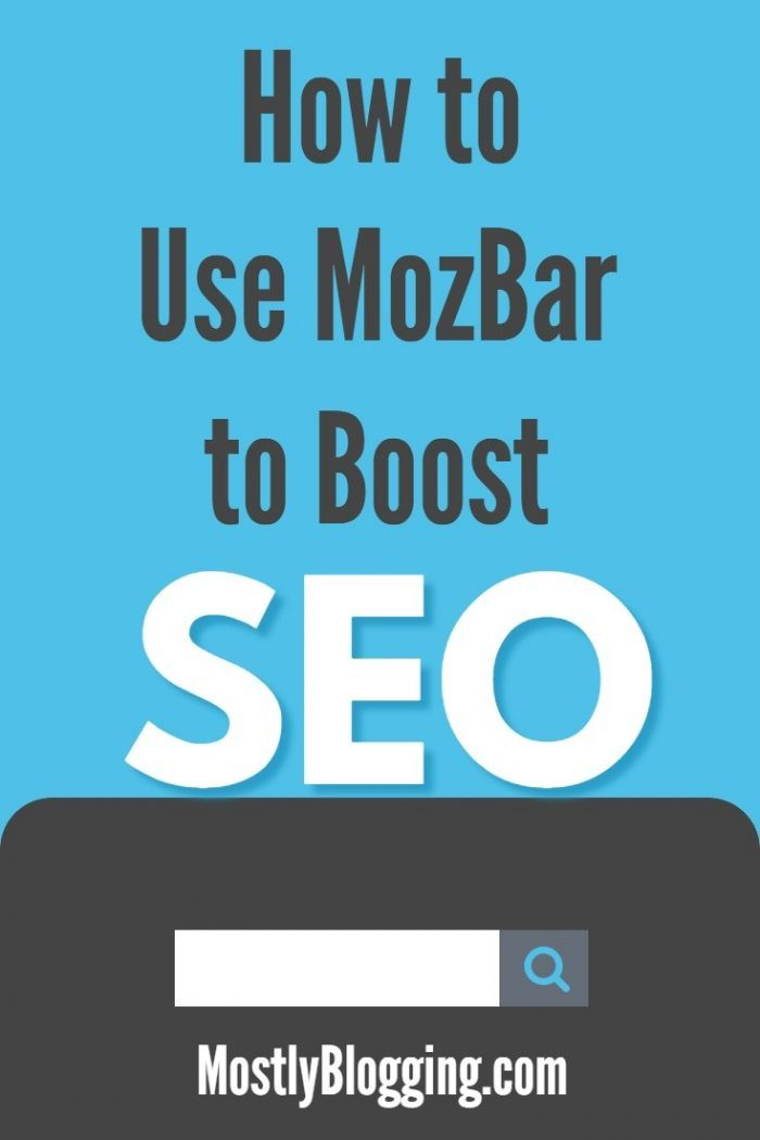 How to use MozBar for free to boost SEO