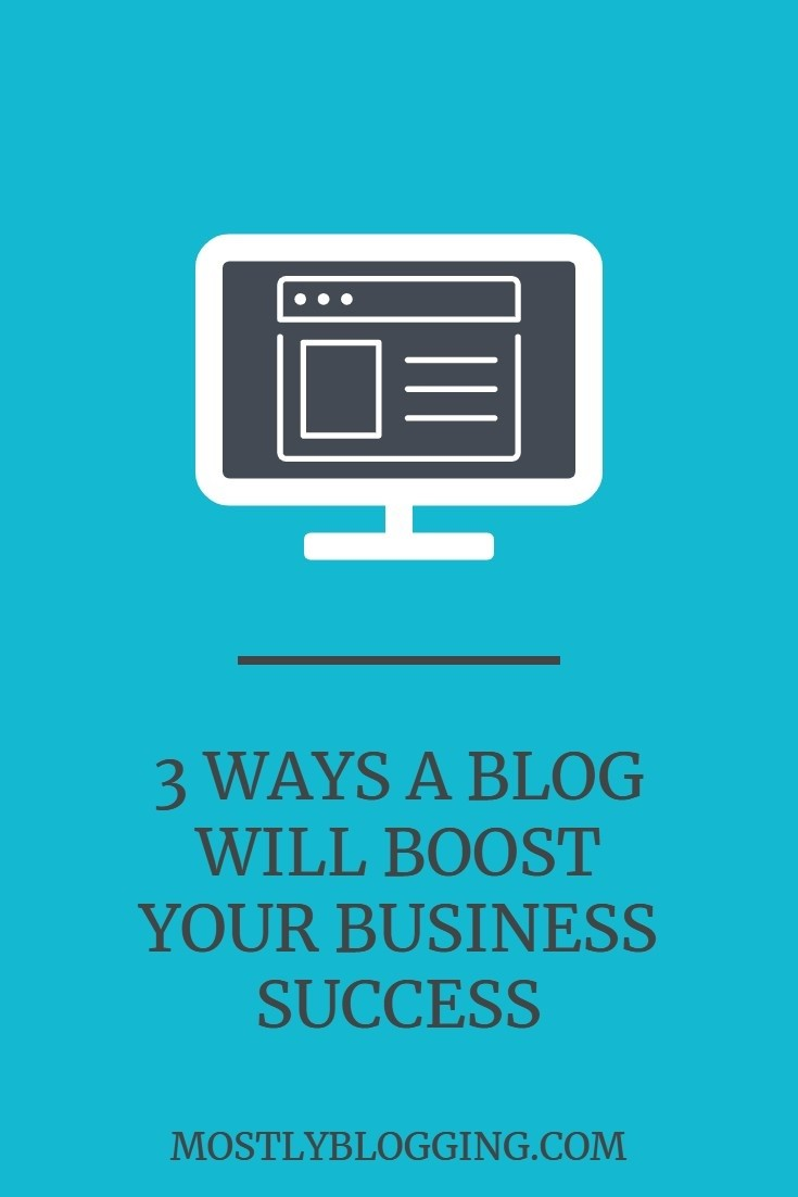 3 benefits of websites or blogs on a business