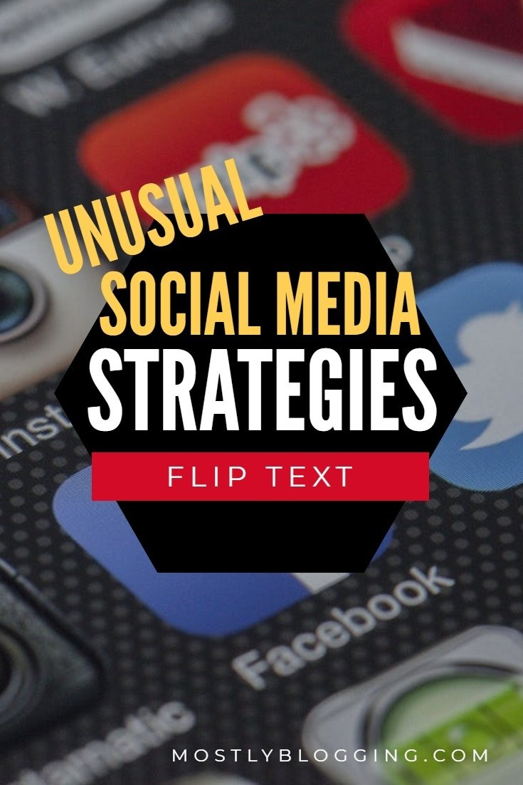 Learn how to write upside down text and backwards text on 3 social media sites.