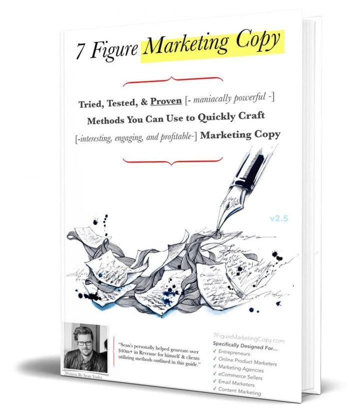 blog life 7 figure marketing copy