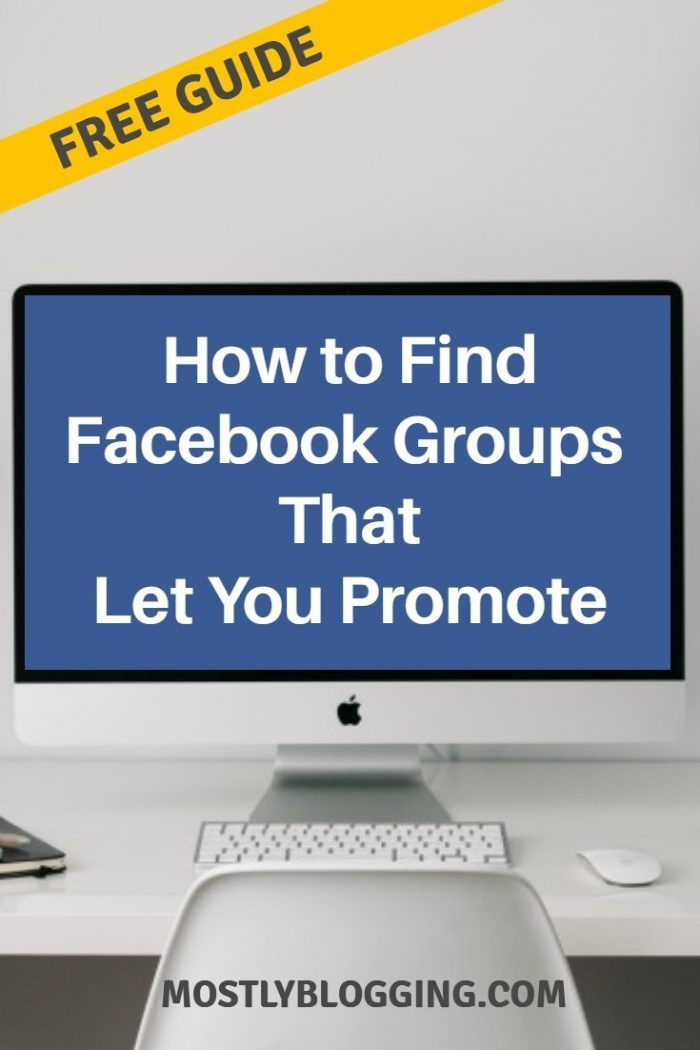 How to find Facebook groups for 18+ that allow daily promotion.