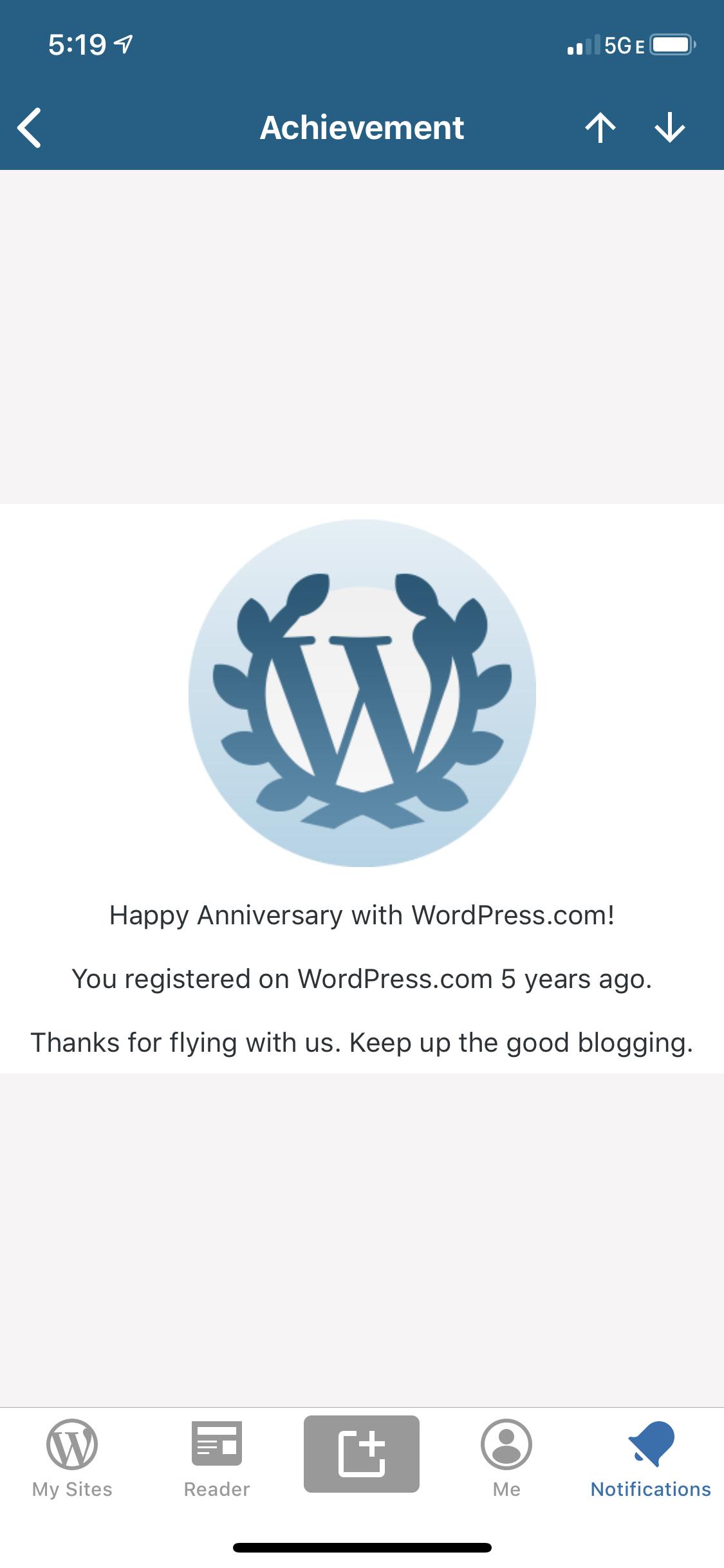 blogversary party